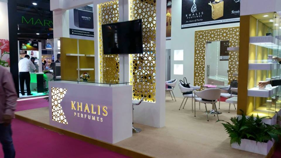 KHALIS Perfumes-Beauty world exhibition-2015
