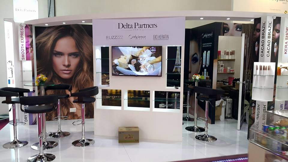 Delta Partners, Beauty world exhibition-2015