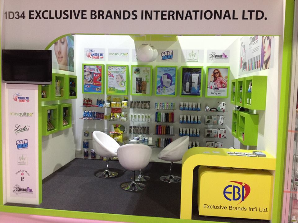 EBI -Beauty world exhibition 2014,Dubai