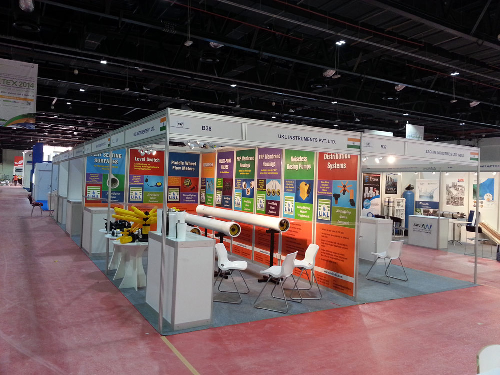 WETEX Exhibition – CII Indian Pavilion – 2014