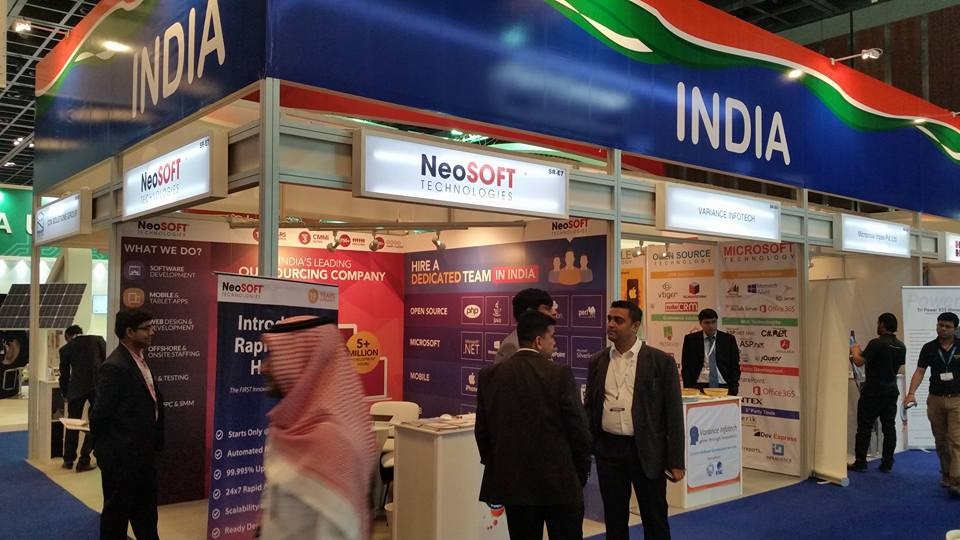 ESC-Indian Pavilion Gitex Exhibition,Dubai-2015