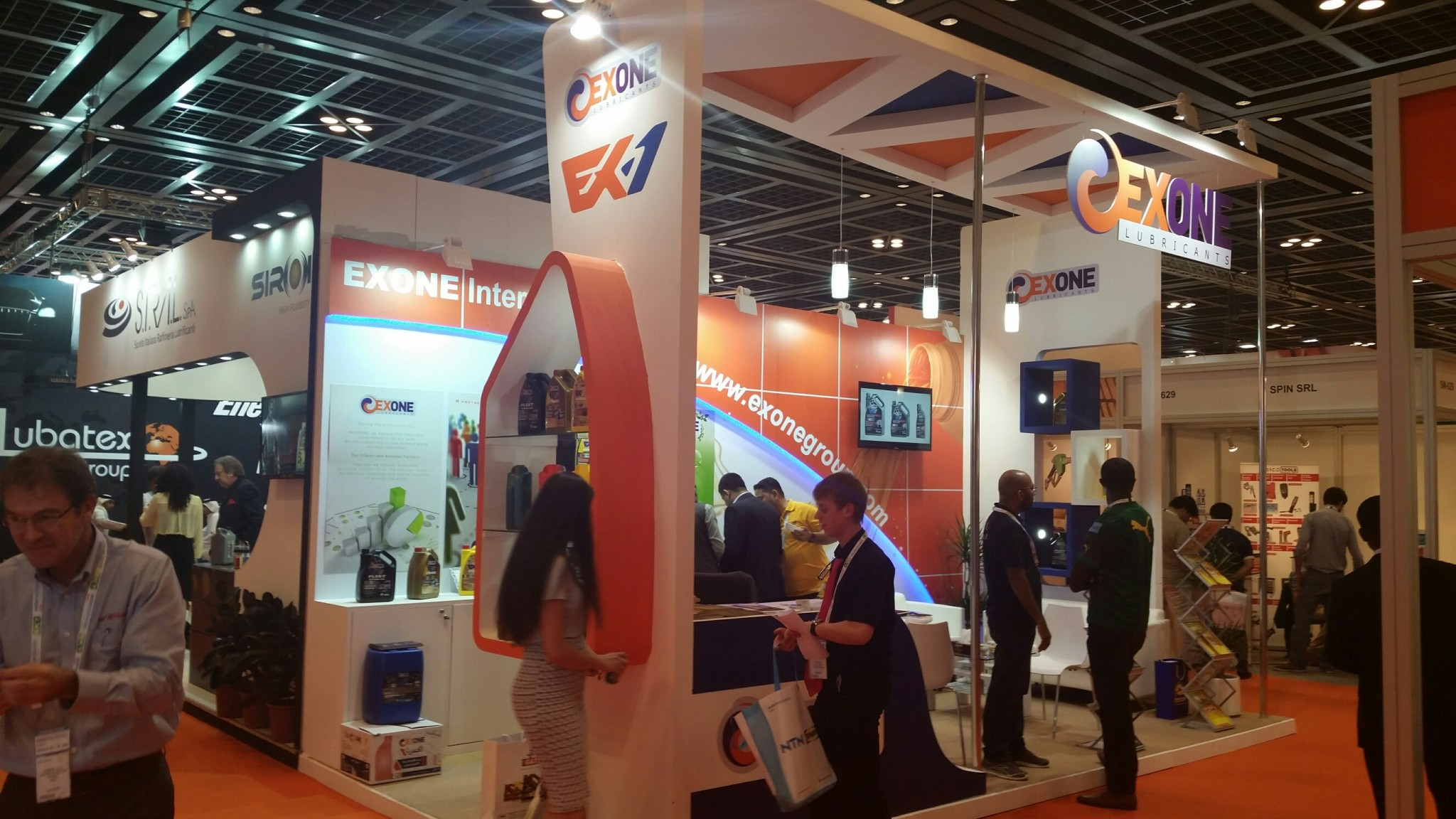 EX ONE-Automechanika exhibition-2015,Dubai