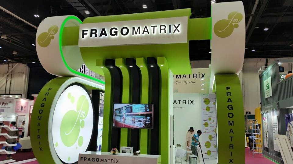 FRAGOMATRIX-Beauty world exhibition-2015,Dubai