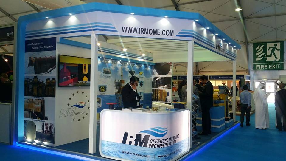 IRM indoor, INDIA-ADIPEC Exhibition, AbuDhabi-2015