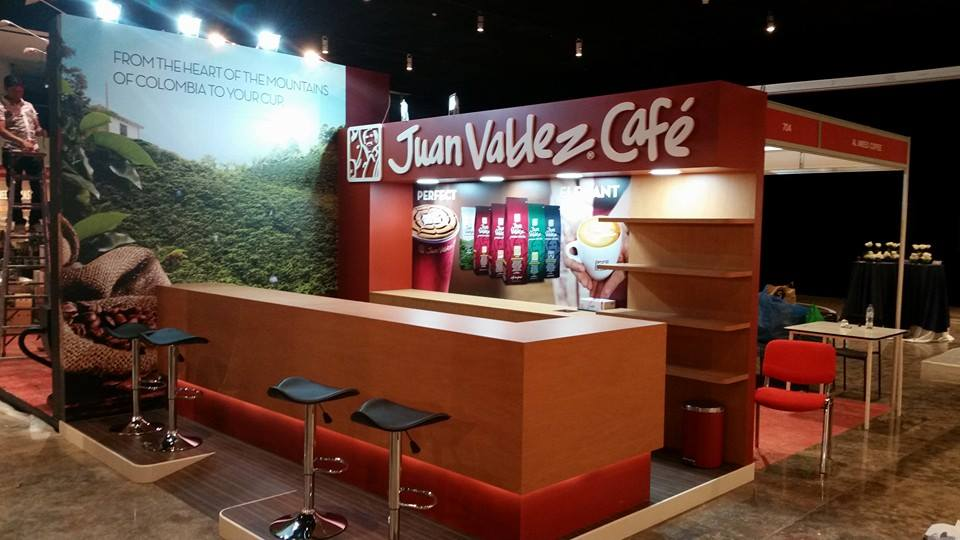 International Tea & Coffee Exhibition JUAN Columbia