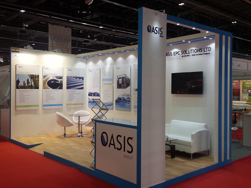 OASIS Group – WETEX EXHIBITION 2014,Dubai