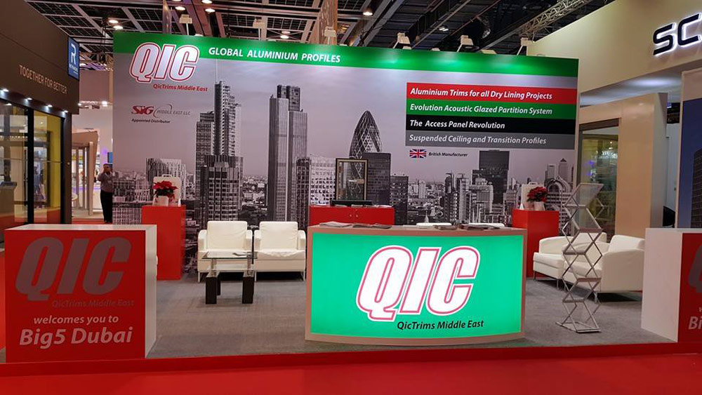 Big 5 – 2014, Dubai. QIC – UK
