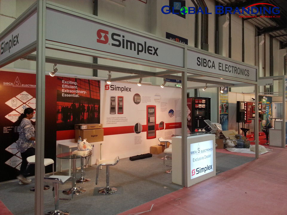 SIBCA  Electronics, UAE  Intersec – 2014