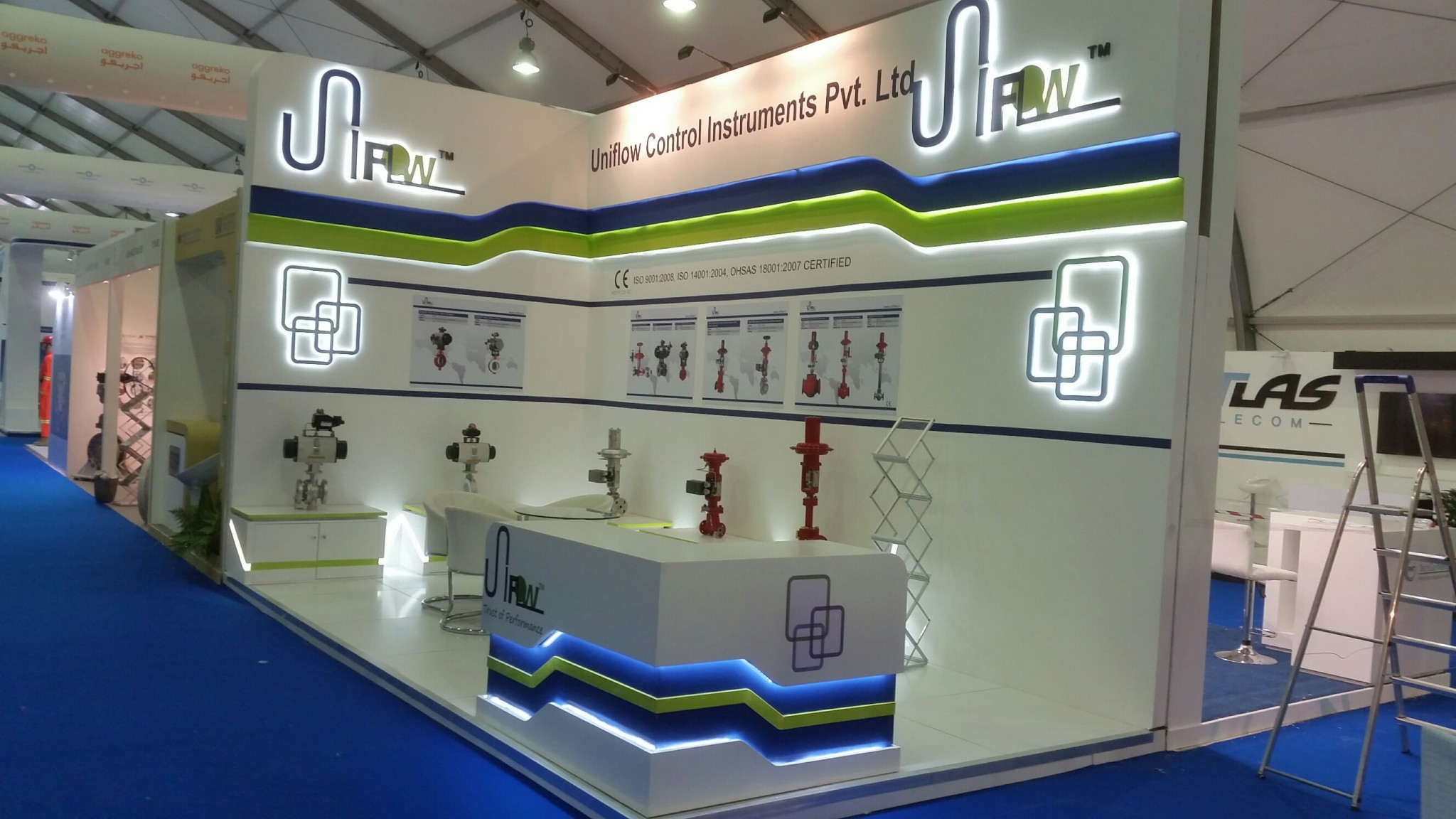 UNIFLOW – ADIPEC Exhibition, Abu Dhabi-2015