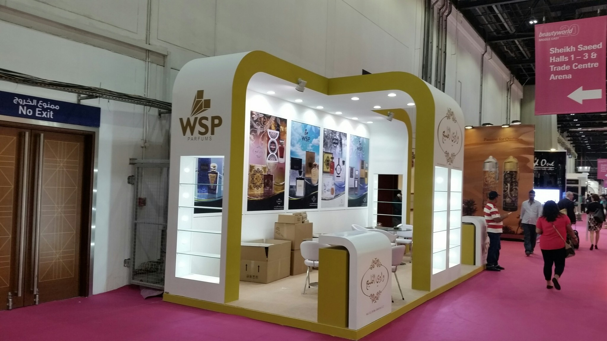 WADI SAJI-Beauty world exhibition-2015,Dubai