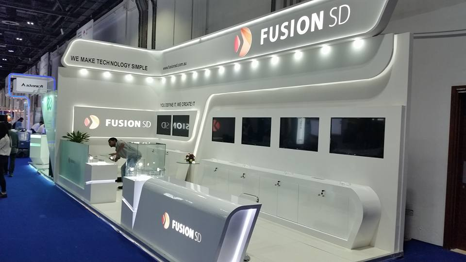 Fusion SD, Australia-Gitex Exhibition, Dubai-2015