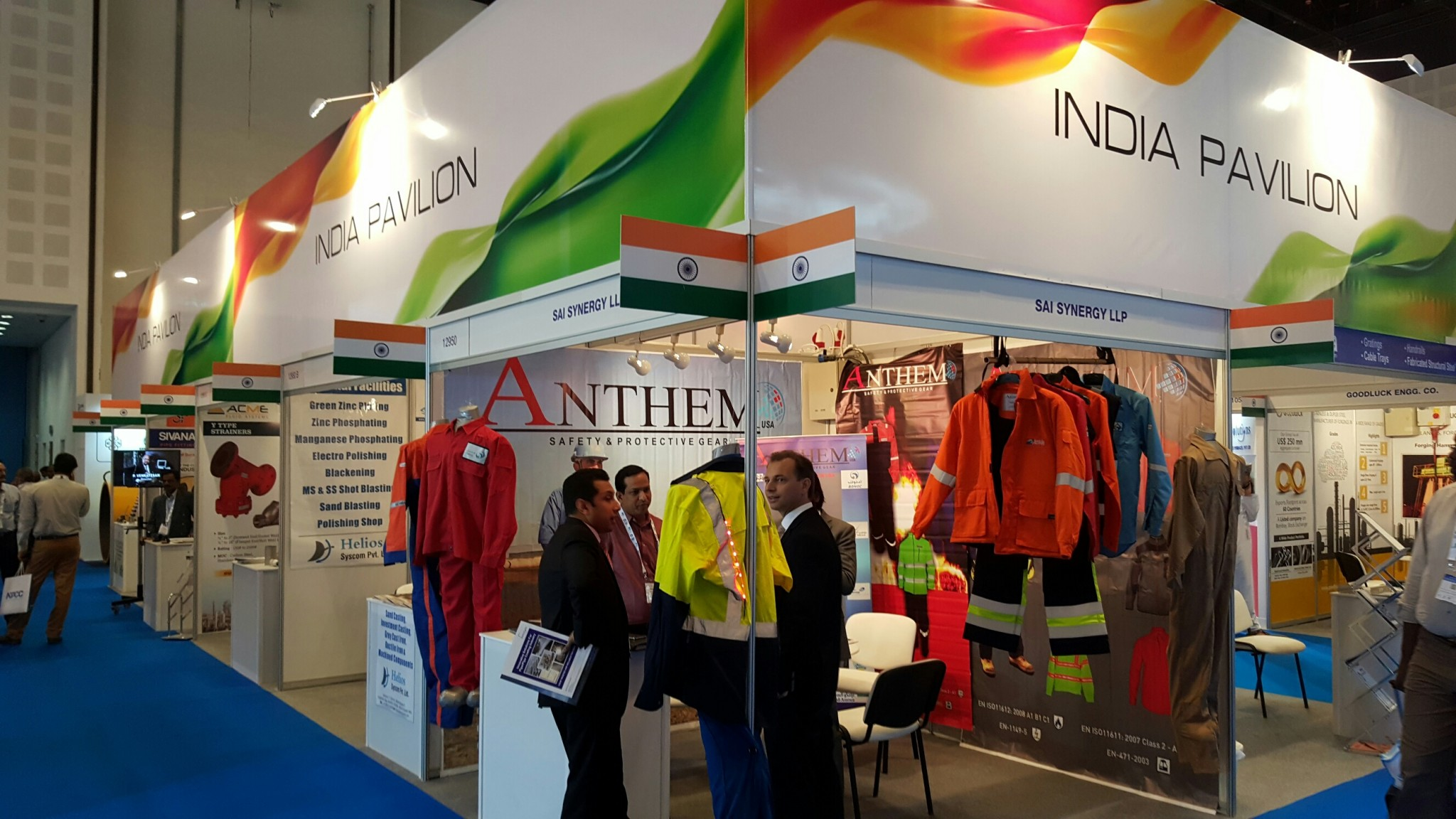 CII-INDIAN Pavilion -ADIPEC Exhibition,Abu Dhabi-2015