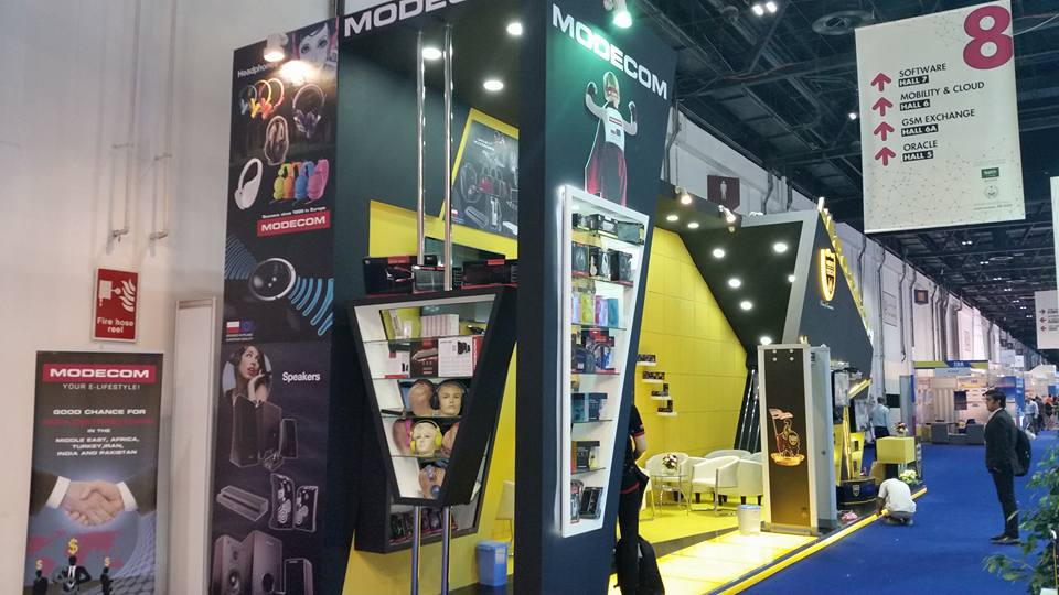 Modecom S.A. Poland-Gitex Exhibition, Dubai-2015