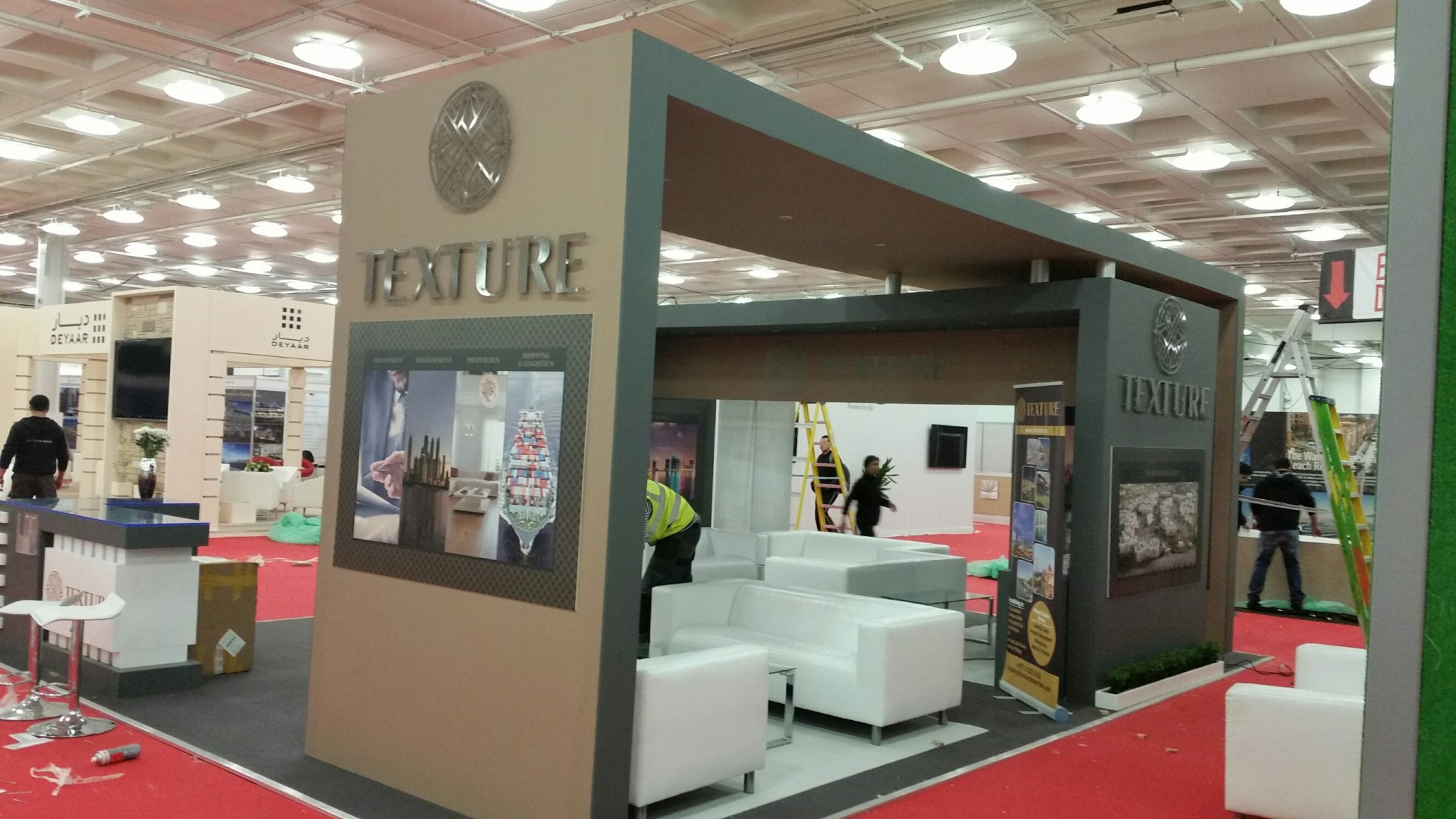 TEXTURE -DPS exhibition 2015,olympia London
