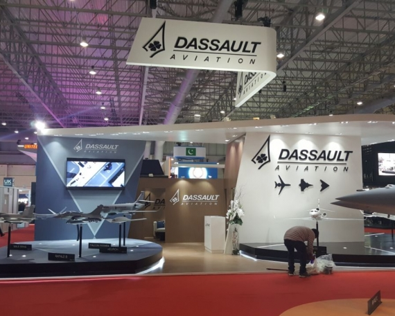 Dassault Aviation, France- Dubai Airshow