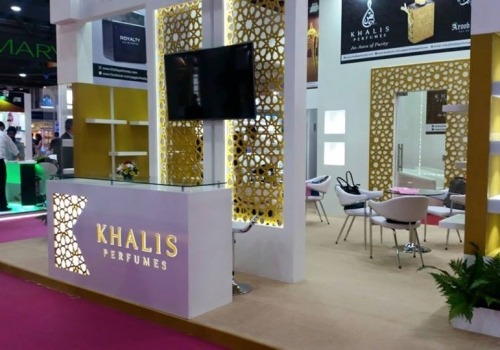 KHALIS Perfumes-Beauty world exhibition-2015