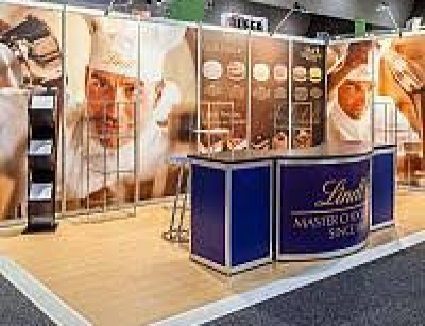 Great Display Stands with the Exhibition Graphics Printing Dubai