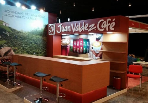 International Tea & Coffee Exhibition JUAN Columbia