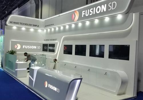 Fusion SD, Australia-Gitex Exhibition, Dubai-2015