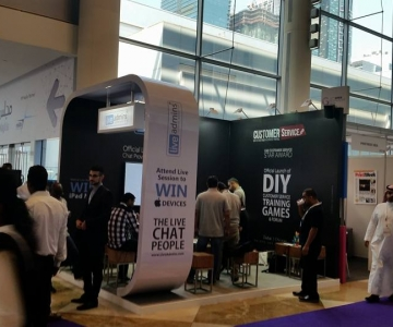 Live Admins – Gitex Exhibition, Dubai – 2015