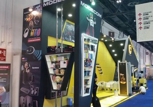 Modecom S.A. Poland-Gitex Exhibition, Dubai-2015